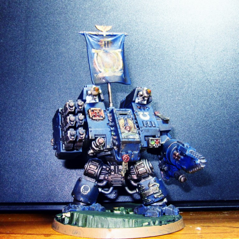 Ultra Marines Siege Dreadnought