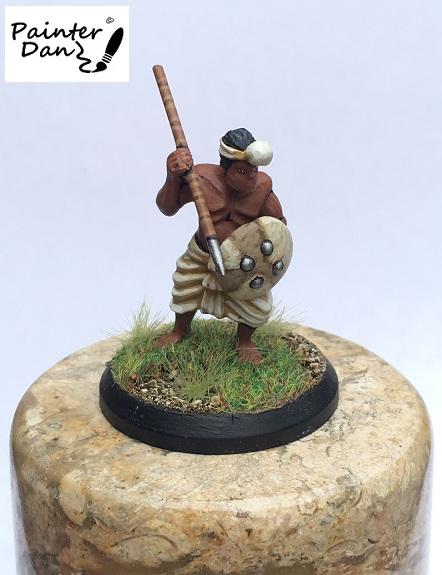 Ancient Indian Javelinman