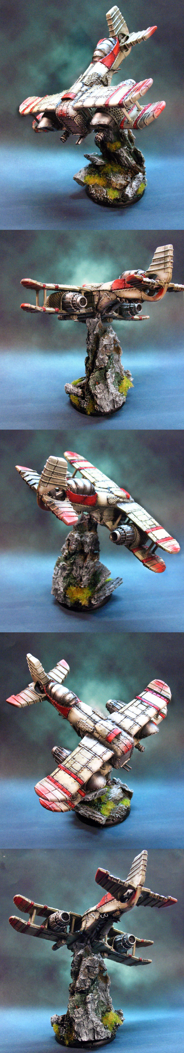Warzone Ressurection Emancipator Combat Aircraft