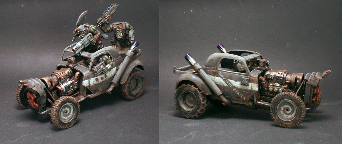 Blood Axe Ork Hot Rod