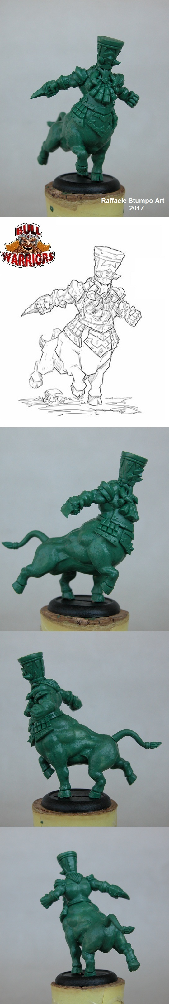 Kalach -Bull centaur- Green