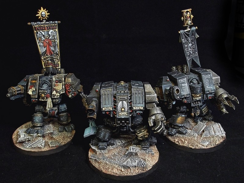 dreadgnought deathwatch tabletop ++