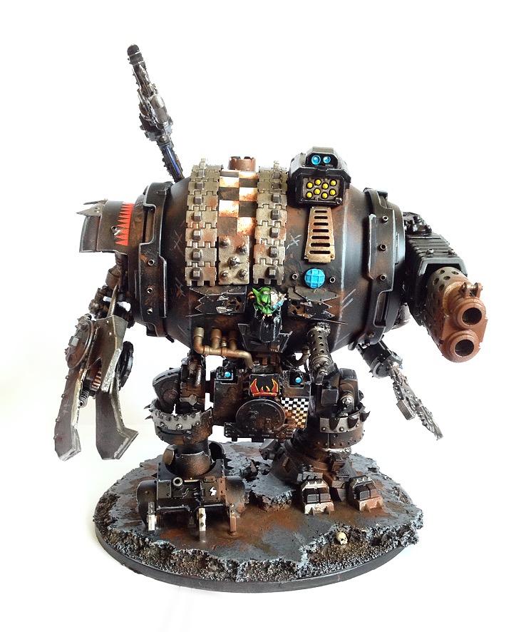 Ork Warboss In Mega Armour By CSP STUDIO