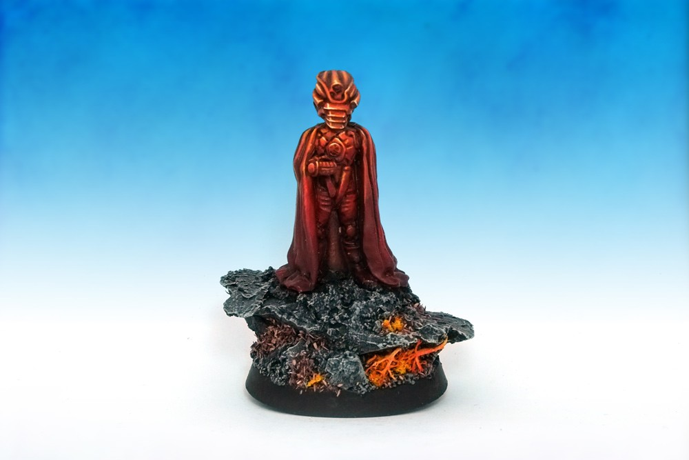 Doctor Who Villain Omega II by Harlequin Miniatures