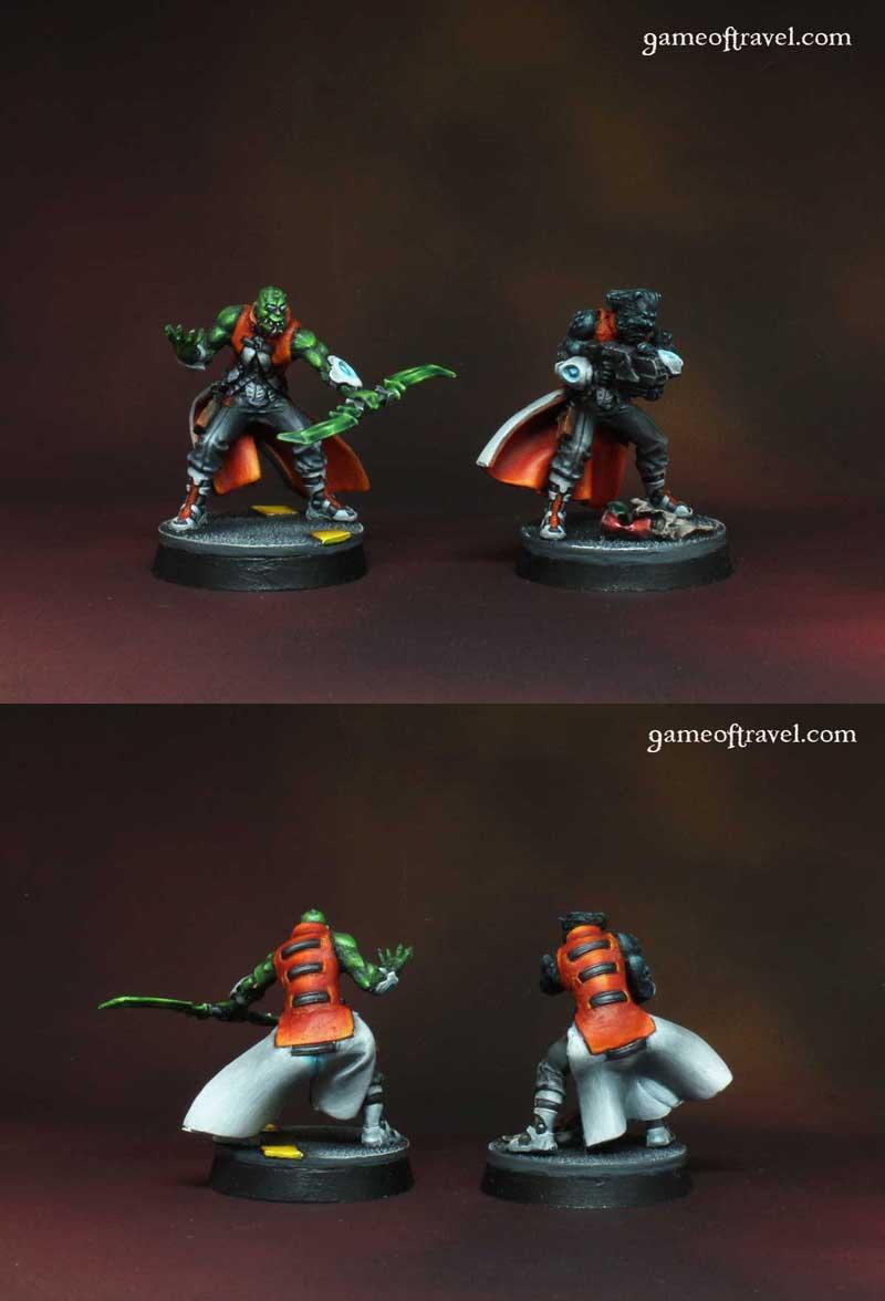 2 Nomad Morlocks (Infinity)