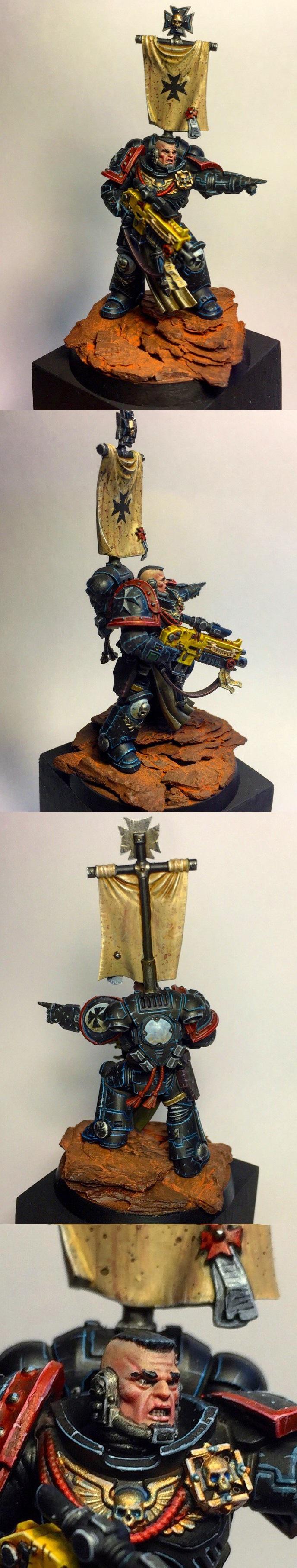 Primaris Space Marine Black Templars Captain