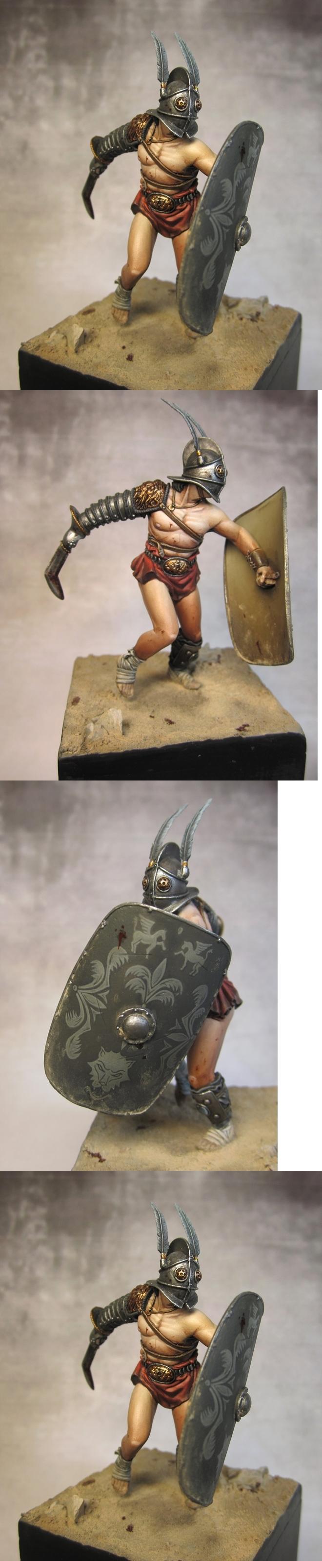 Gladiator Secutor, Pegaso 54mm
