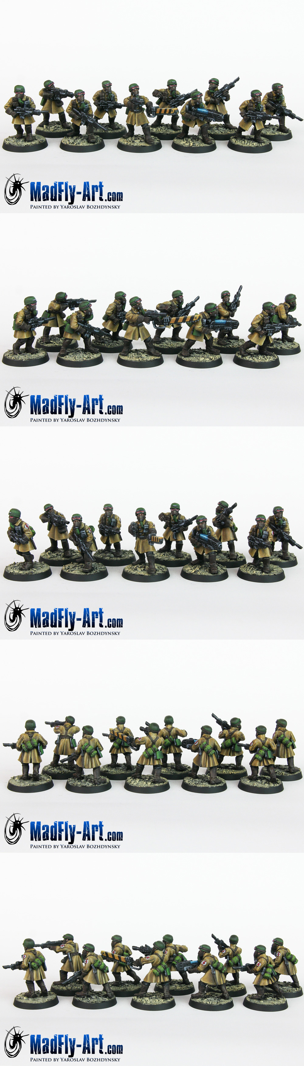 Steel Legion Infantry Squad 4