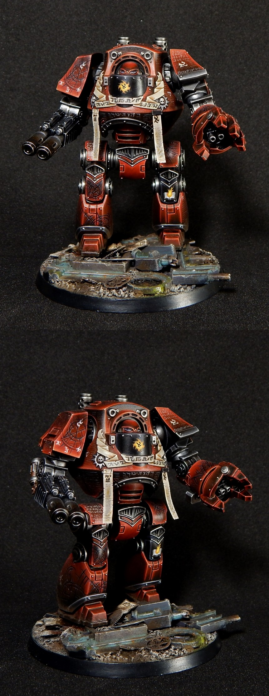 Word Bearers Dreadnought