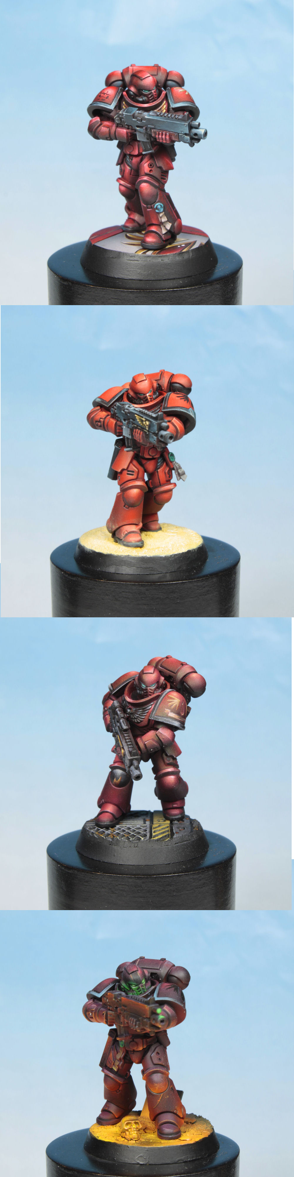 study around blood angel