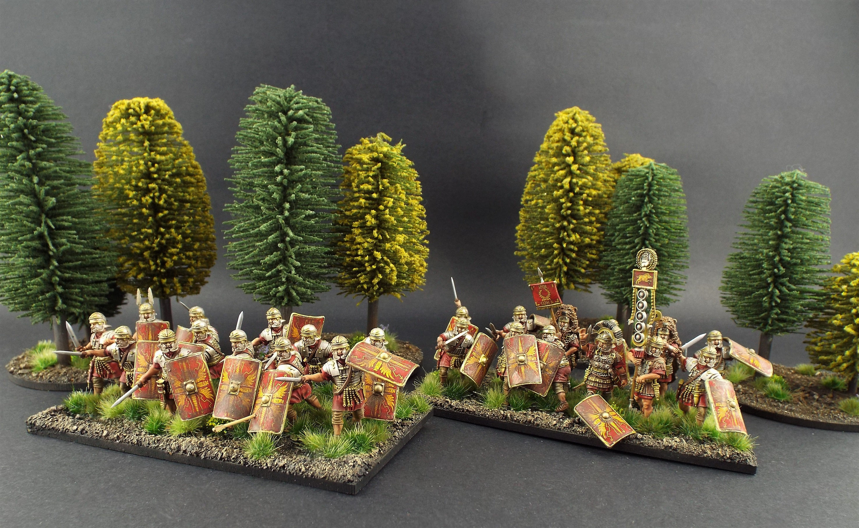 28mm Victrix Early Imperial Roman Legionaries ~
