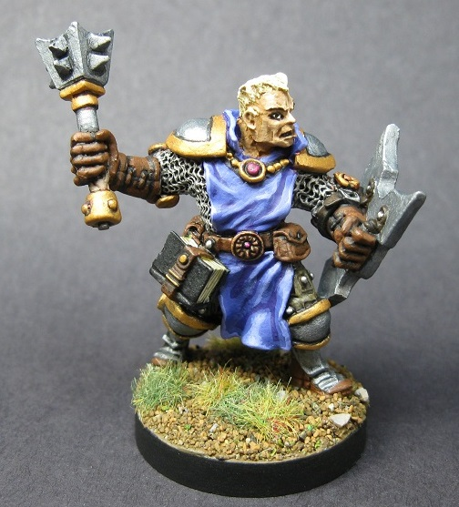 03396: Lazarus Ashwinter, Cleric