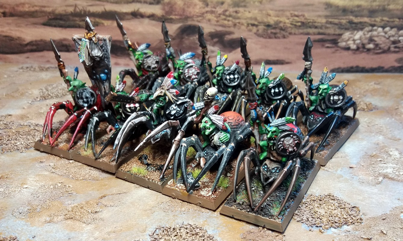 Forest Goblin Spider Riders