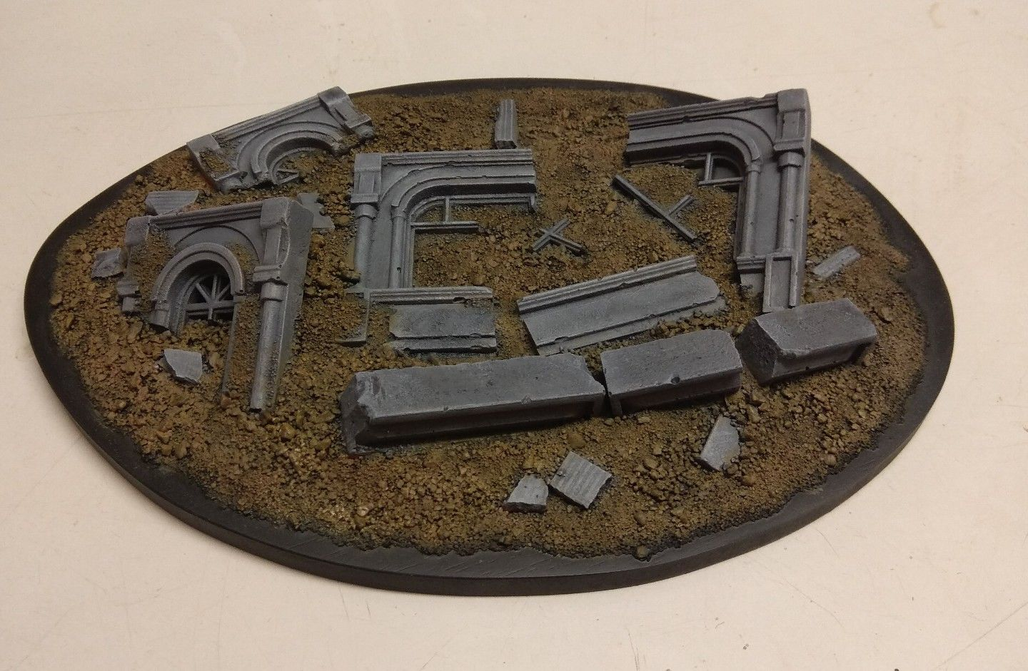 Ruined City Terrain Piece
