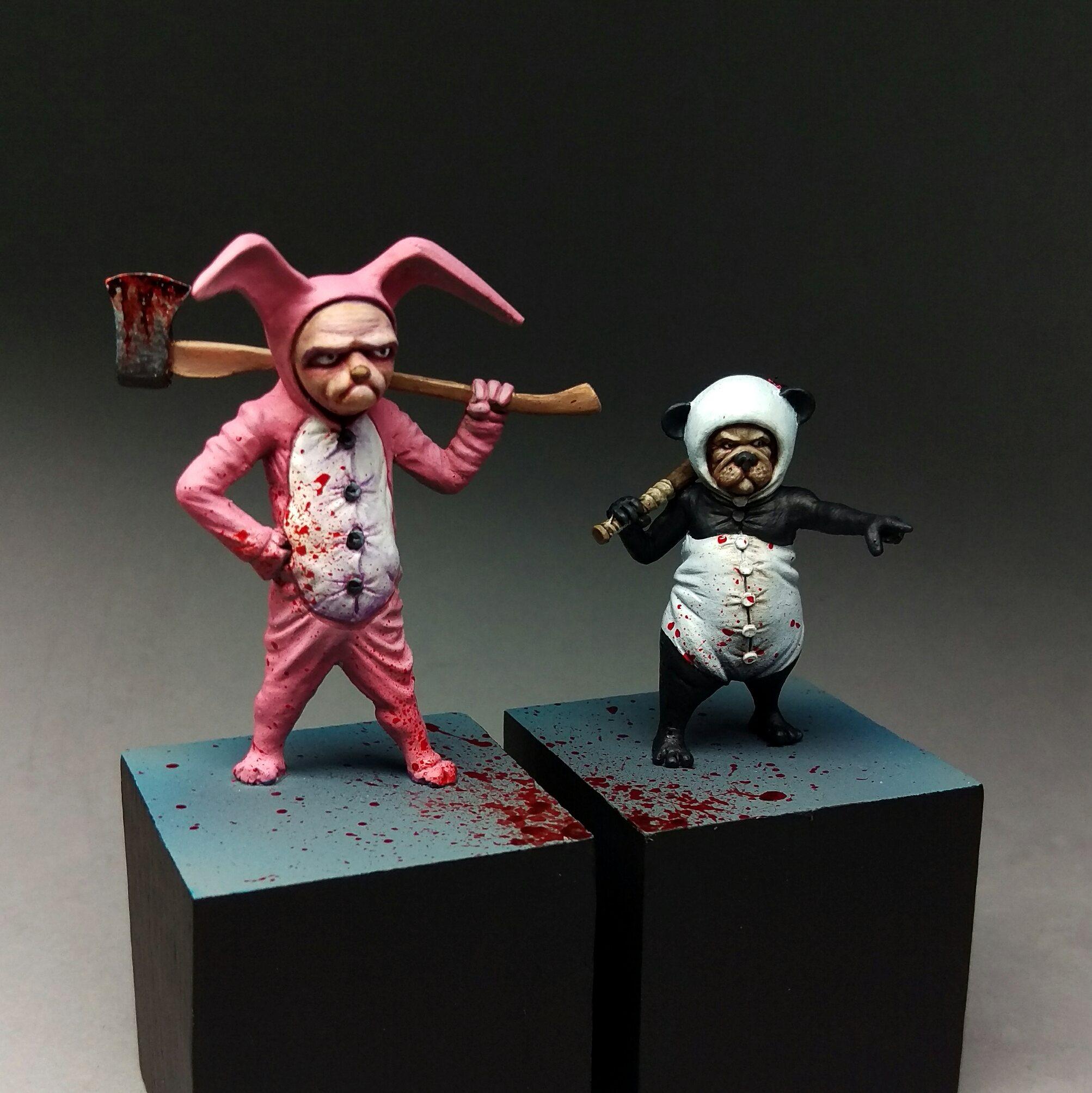 Pugsy Malone & Grumpy Bunny