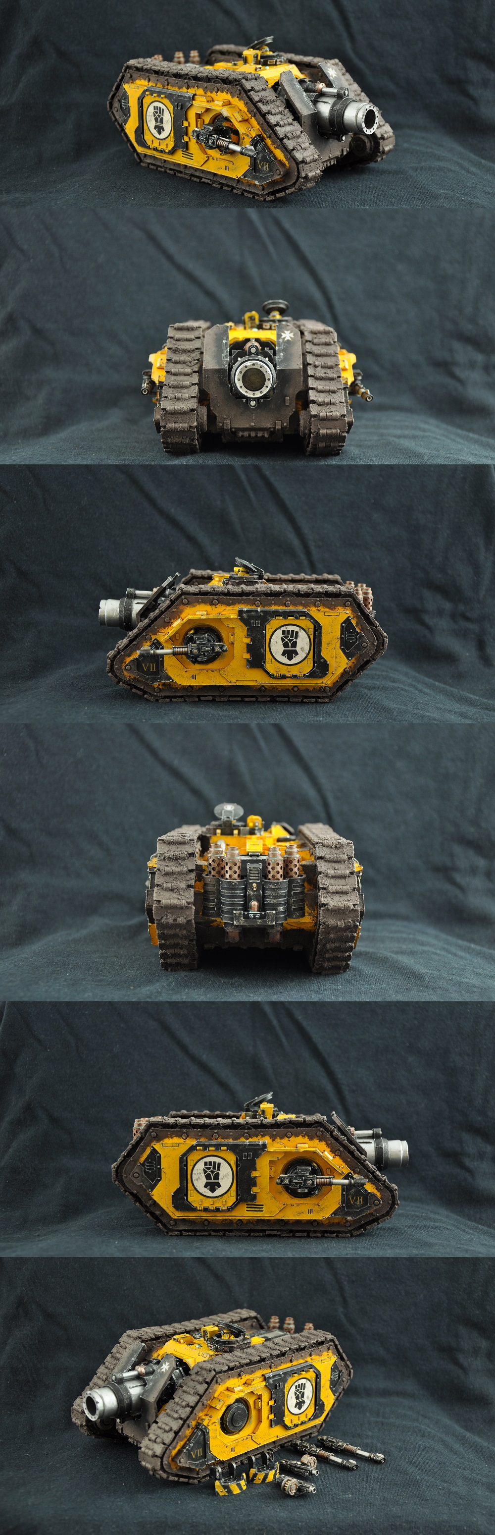 Forge World Imperial Fists Typhon Heavy Siege Tank
