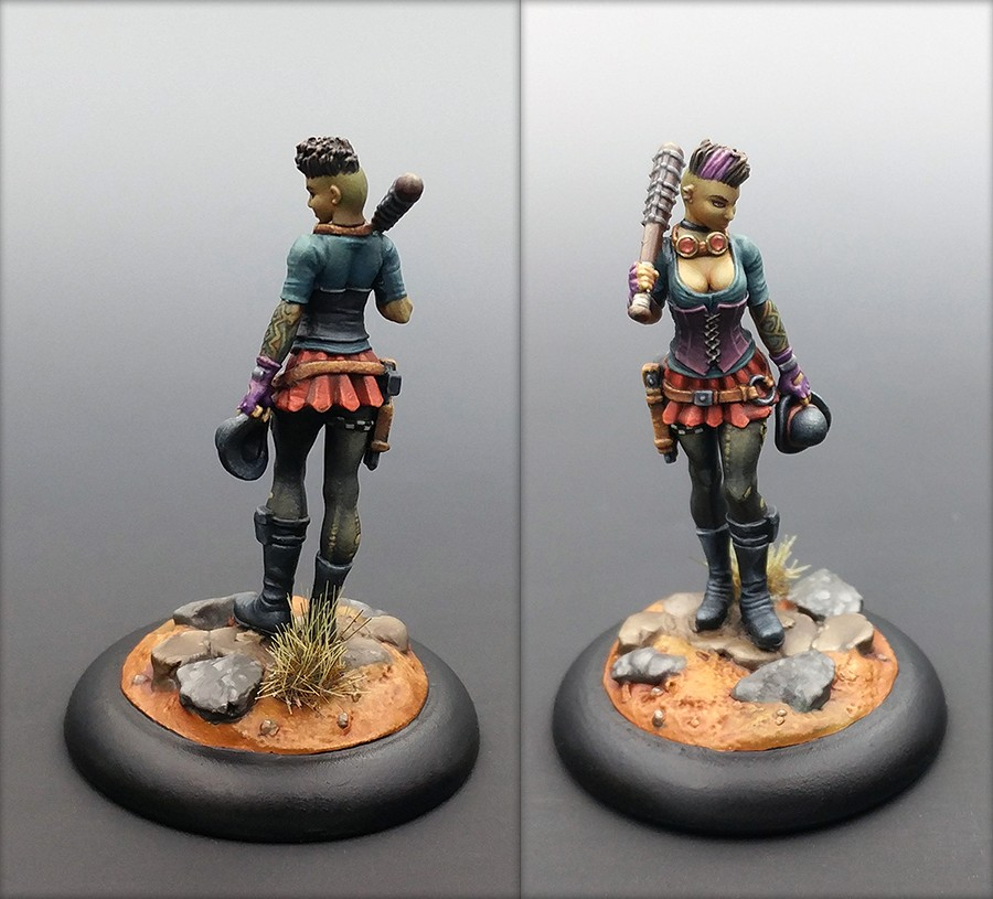 Malifaux: Miss Anne Thrope