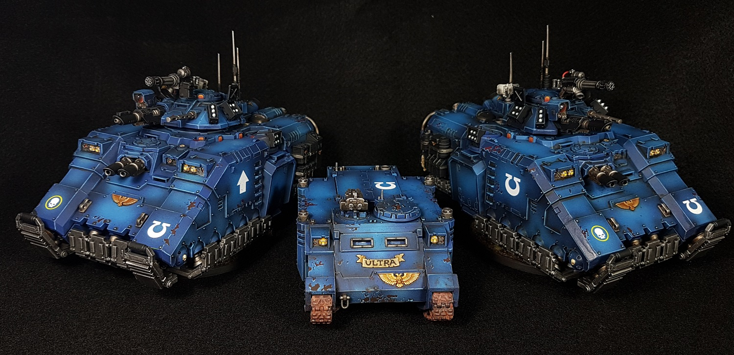 Ultramarine Repulsors and Rhino