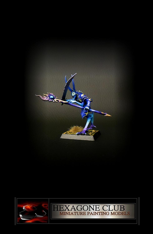 Warhammer Chaos Sorcier .