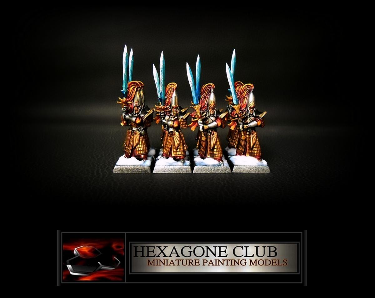 Warhammer Hauts Elfes Guerriers .