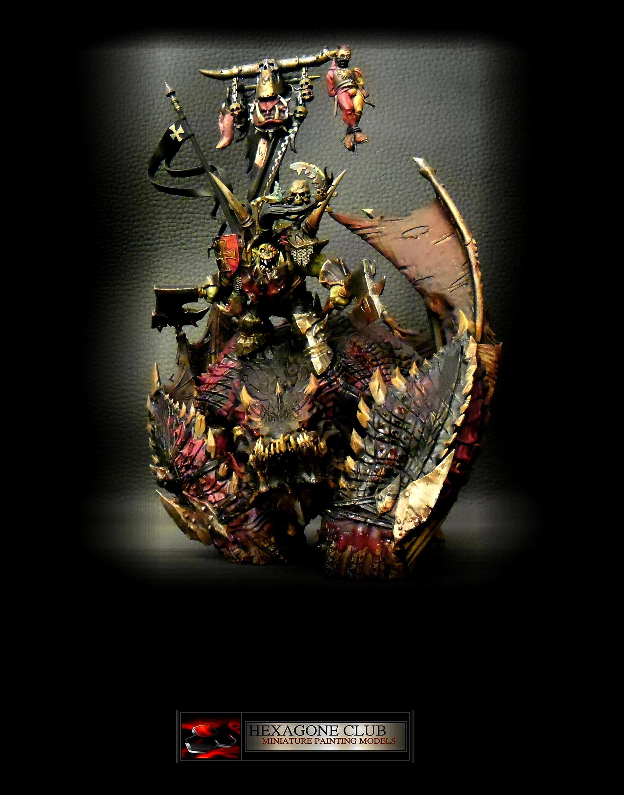 Warhammer ORQUE IRONJAWZ ORRUK MEGABOSS .