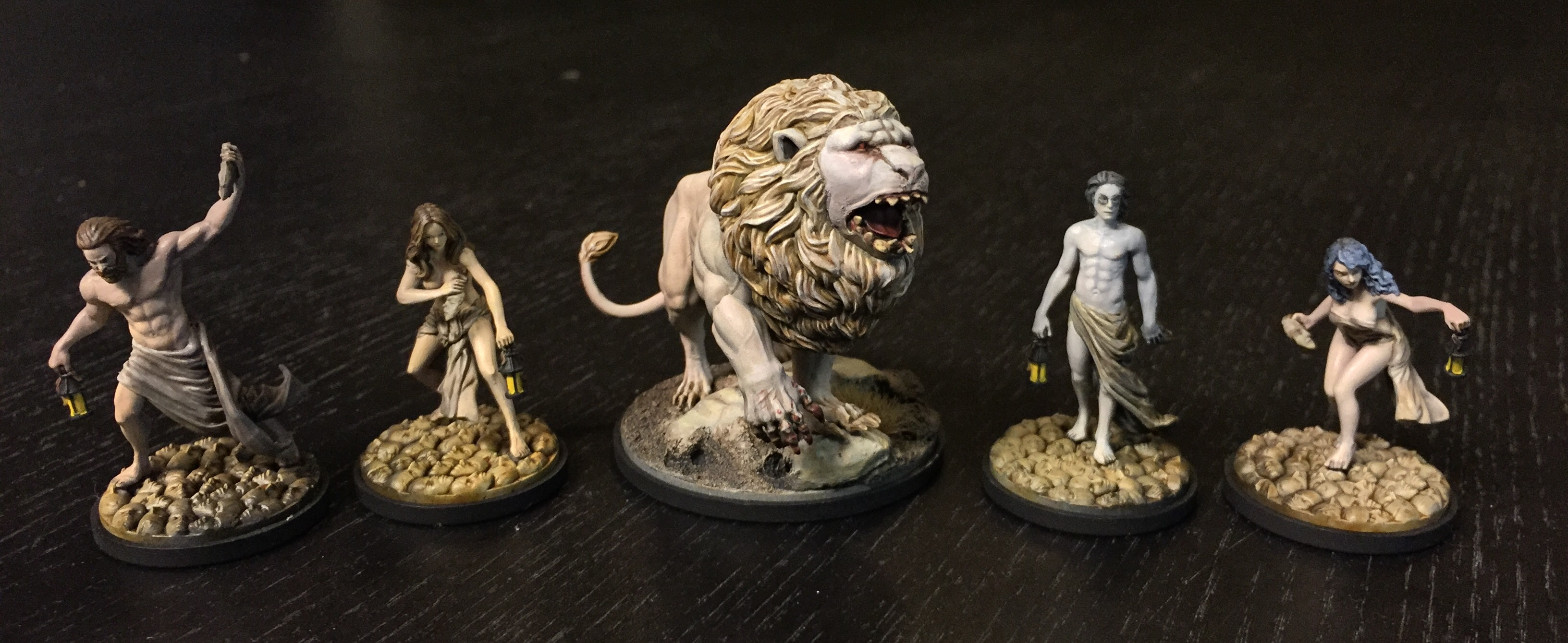 Kingdom Death Survivors & White Lion