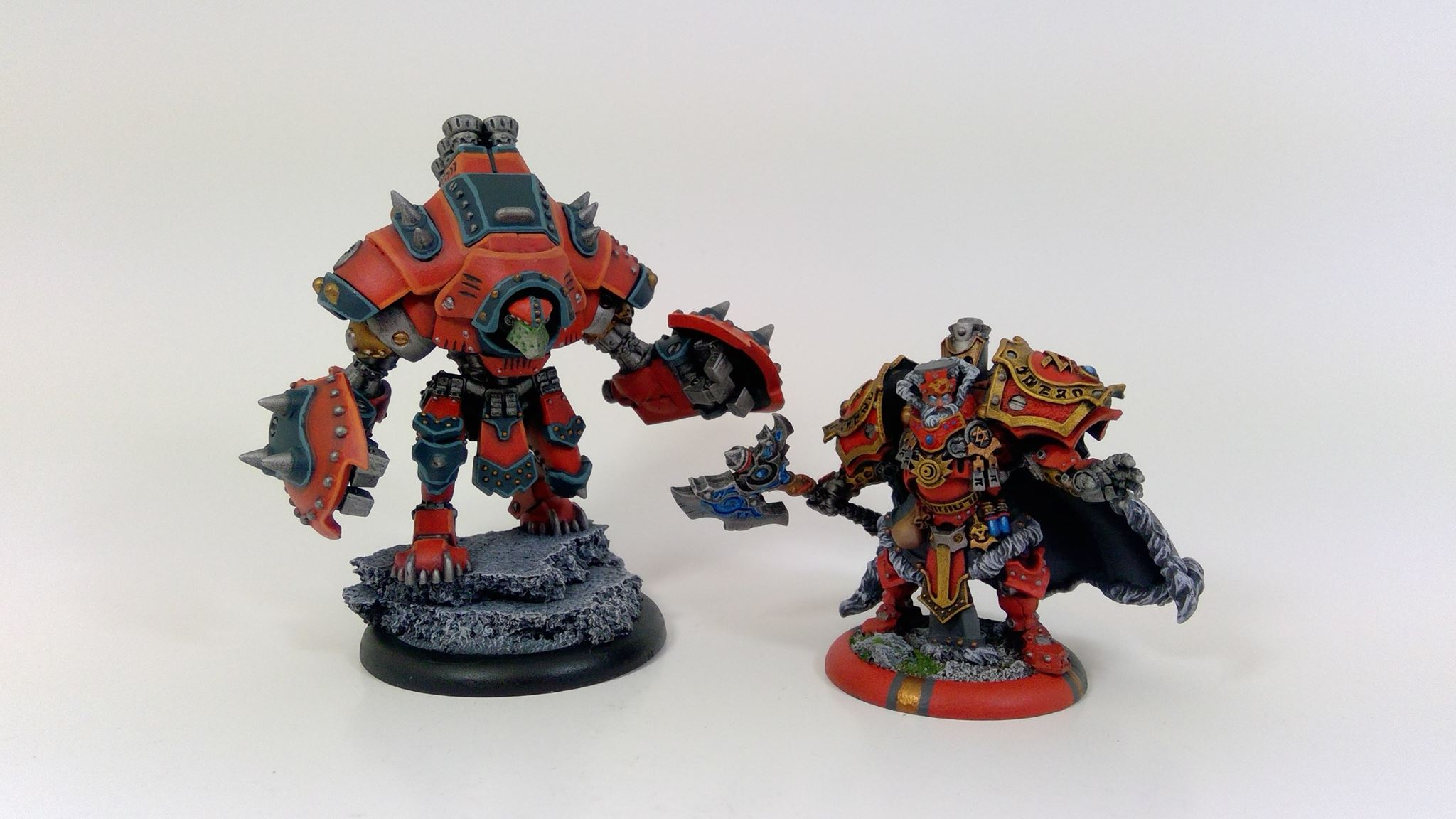 Forge-seer & His Kodiak