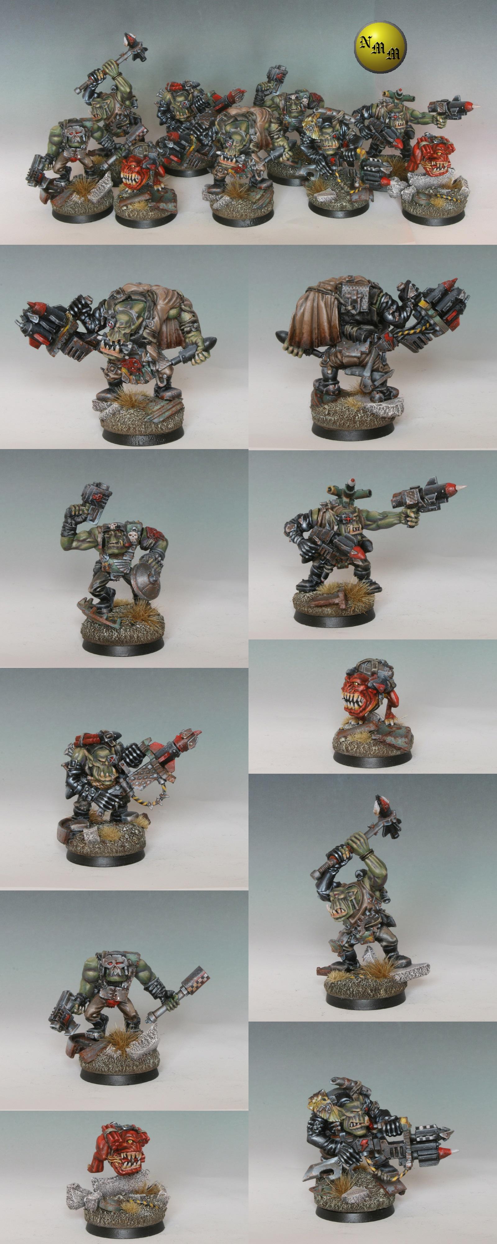 Ork Tankbusta squad