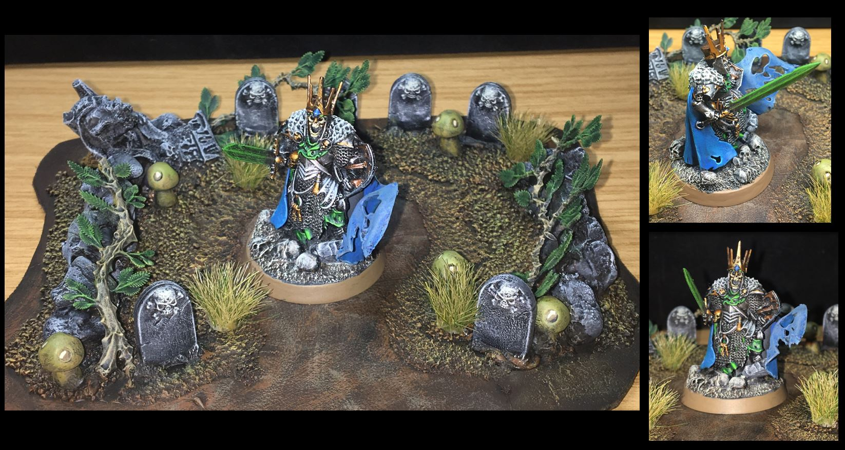 Wight King (with customized graveyard)