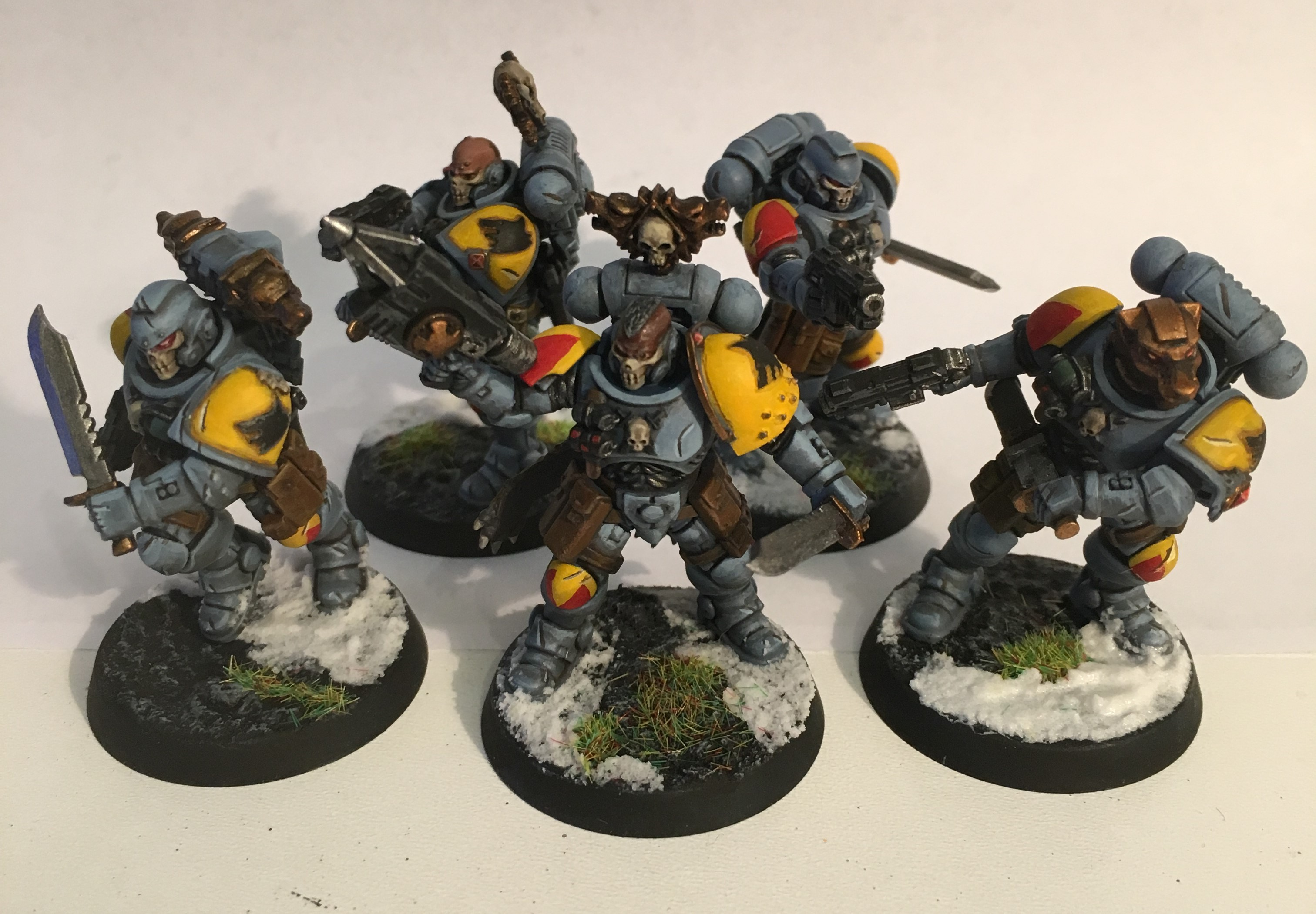 Space Wolves Reivers