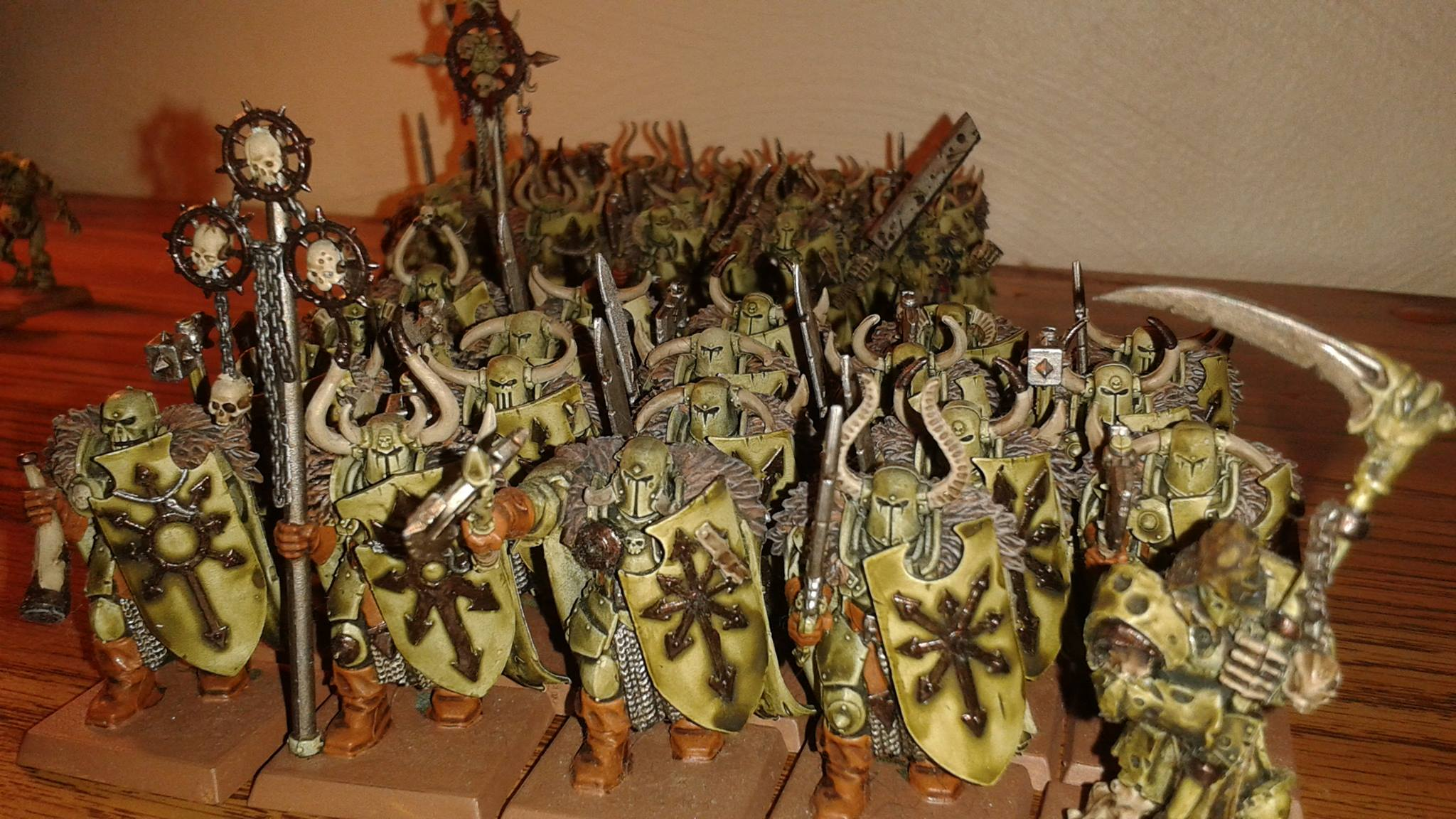 Nurgle Warriors of Chaos