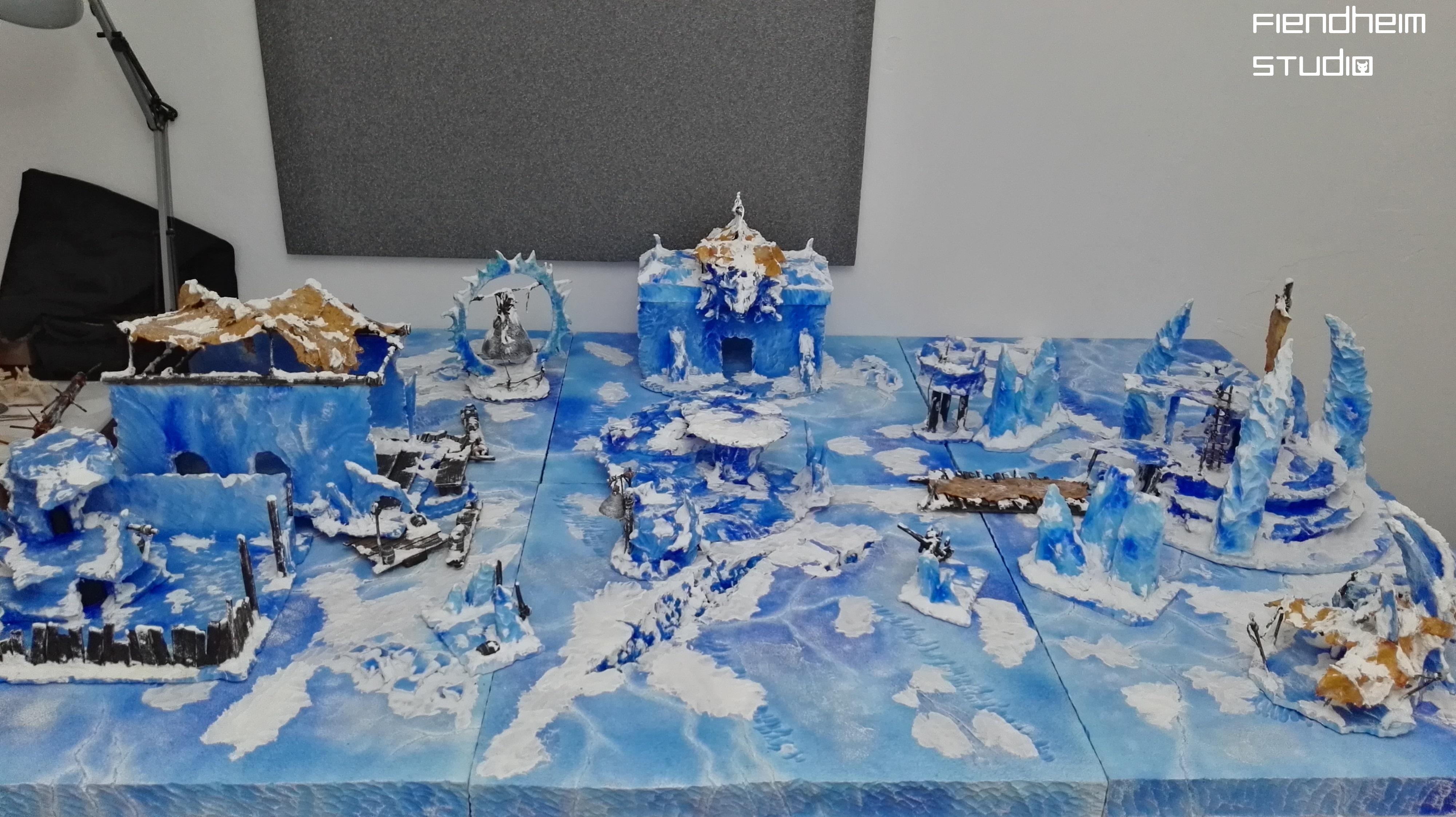 Barbaric Frost World Terrain