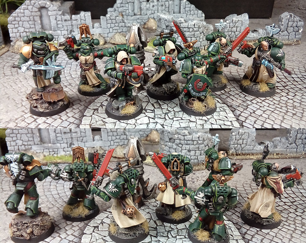 Warhammer 40k - Dark Angels Veterans