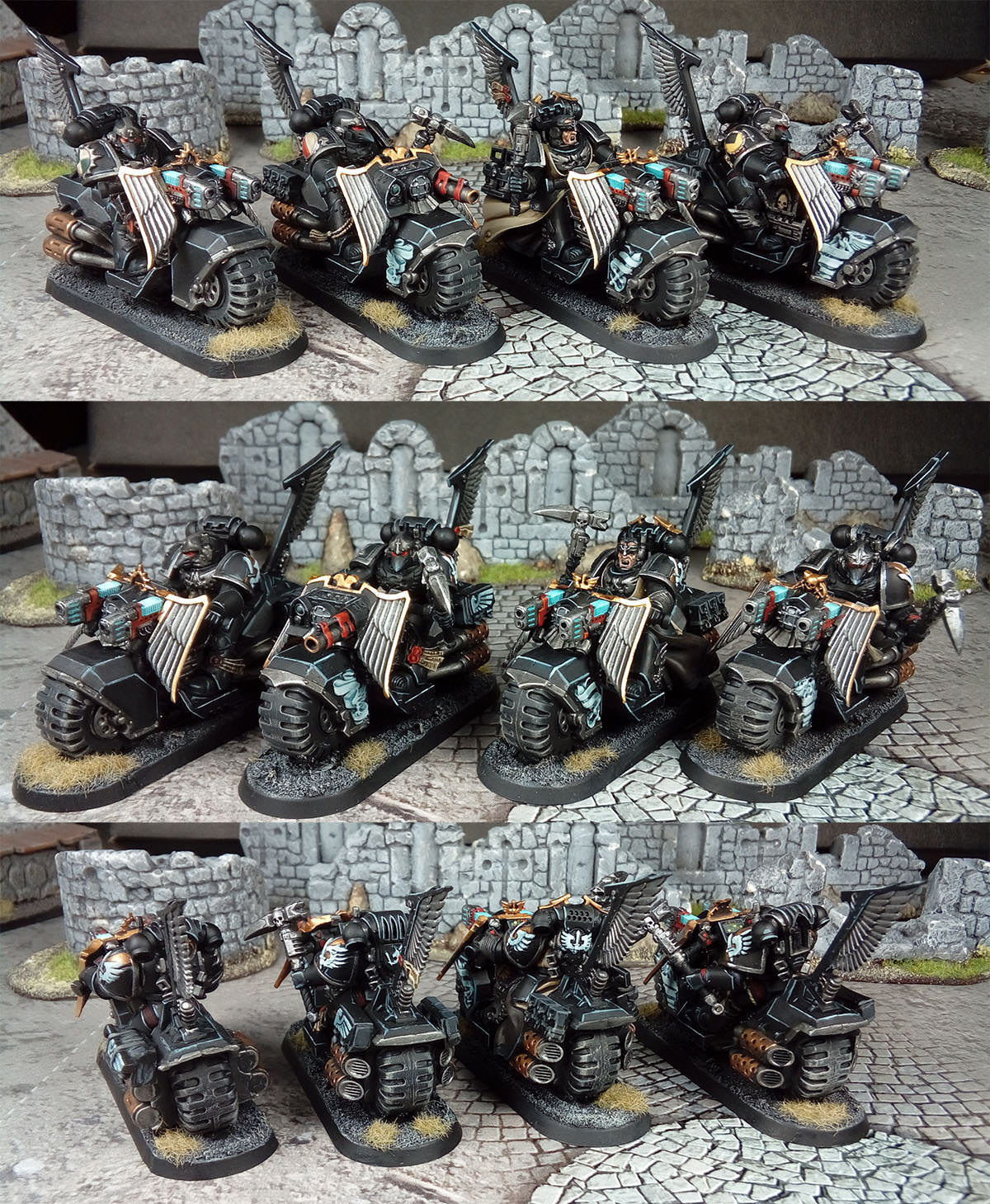 Warhammer 40k - Dark Angels Ravenwing Black Knights