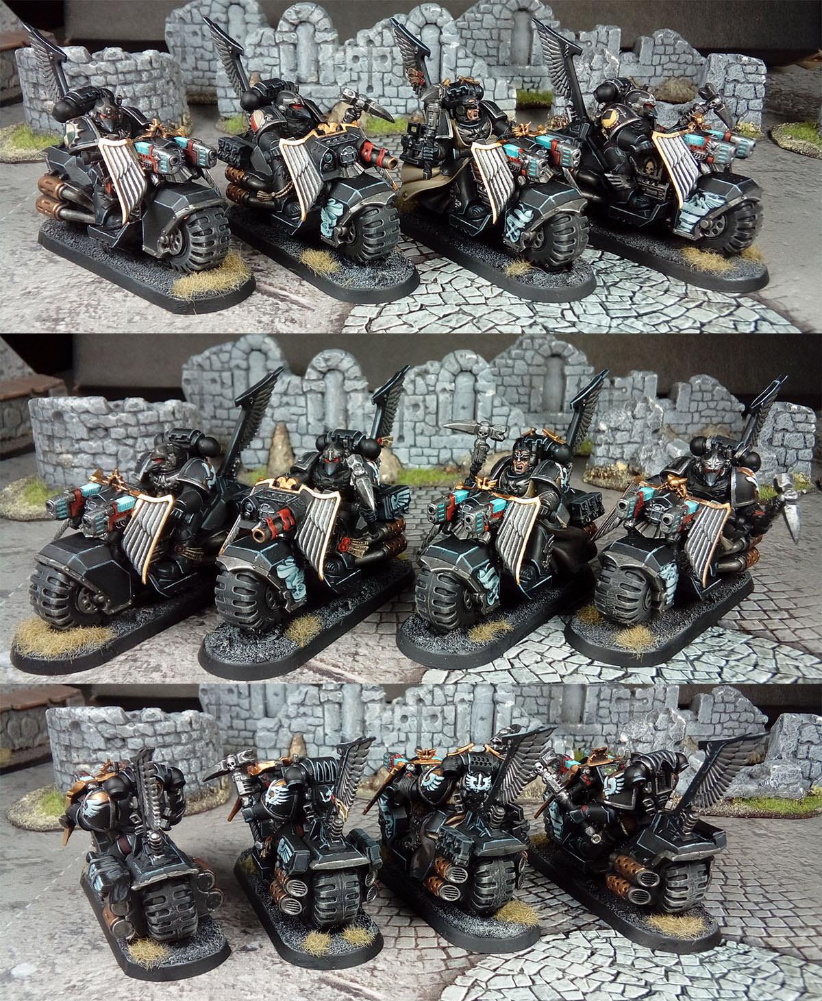 Warhammer 40k - Dark Angels Ravenwing Black Knights
