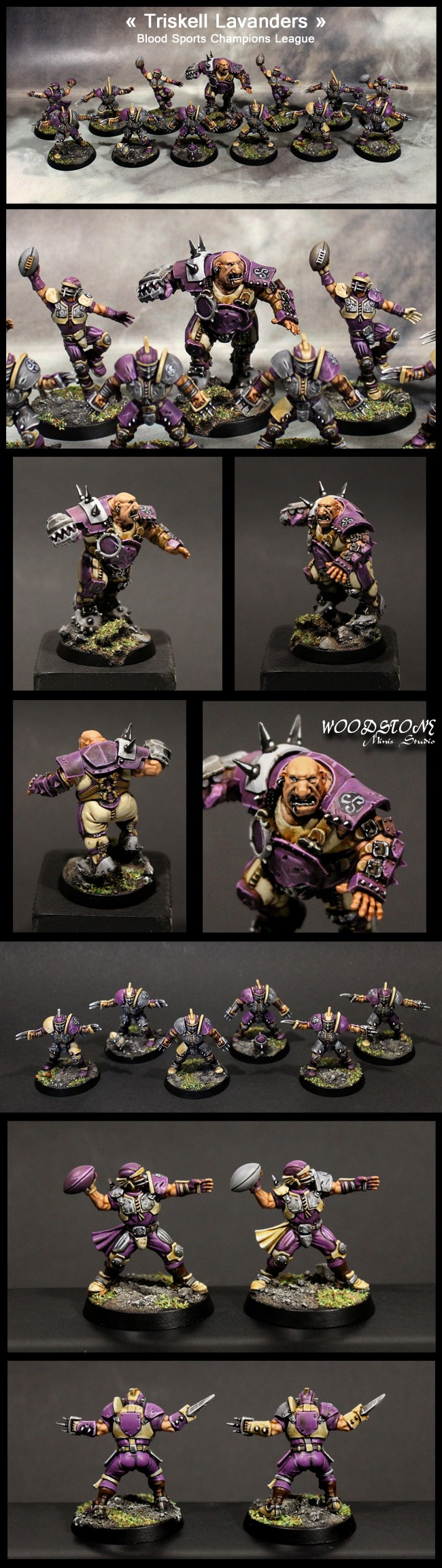 Blood Bowl Triskell Lavanders.
