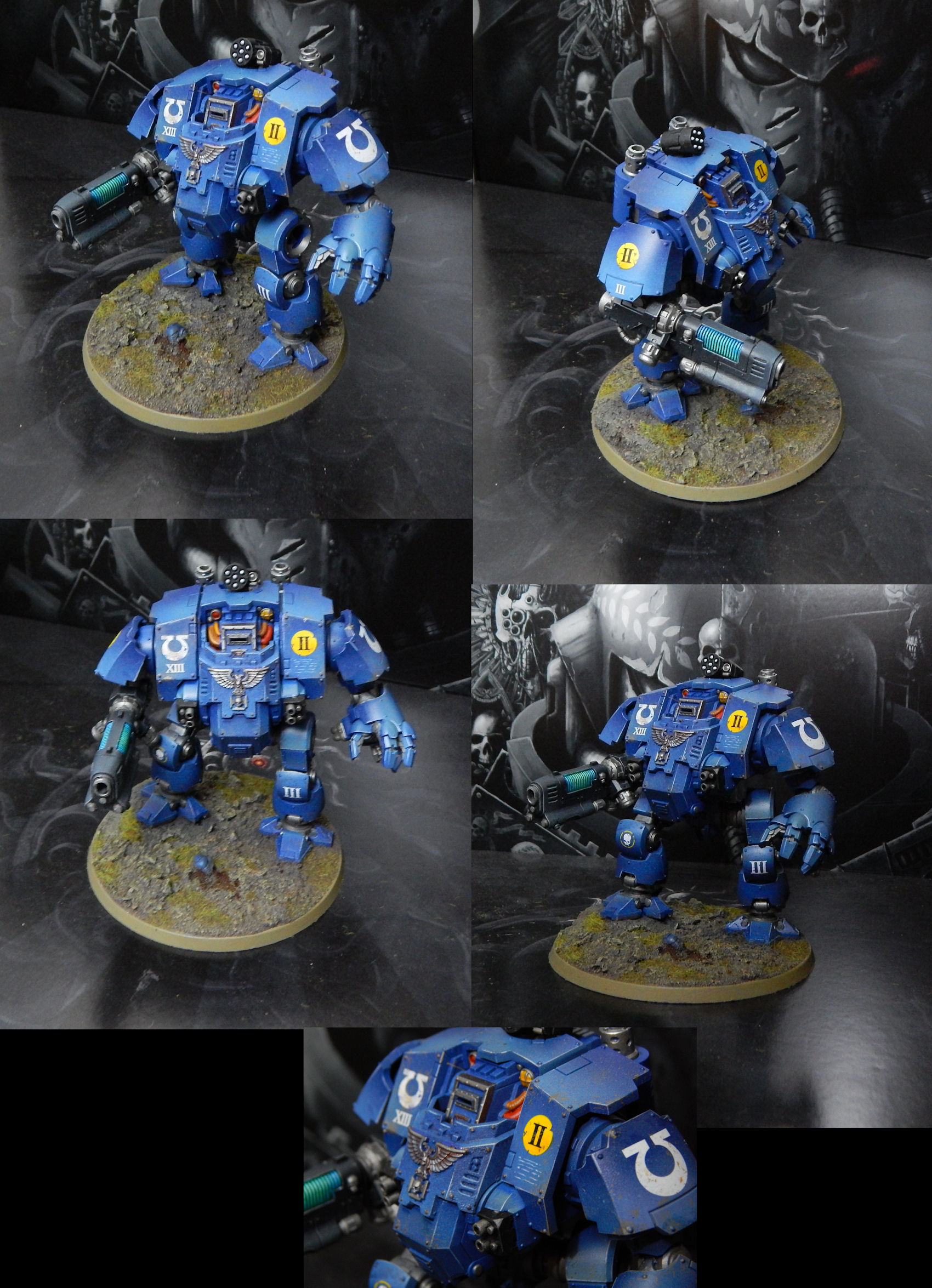 Ultramarines Redemptor Dreadnought