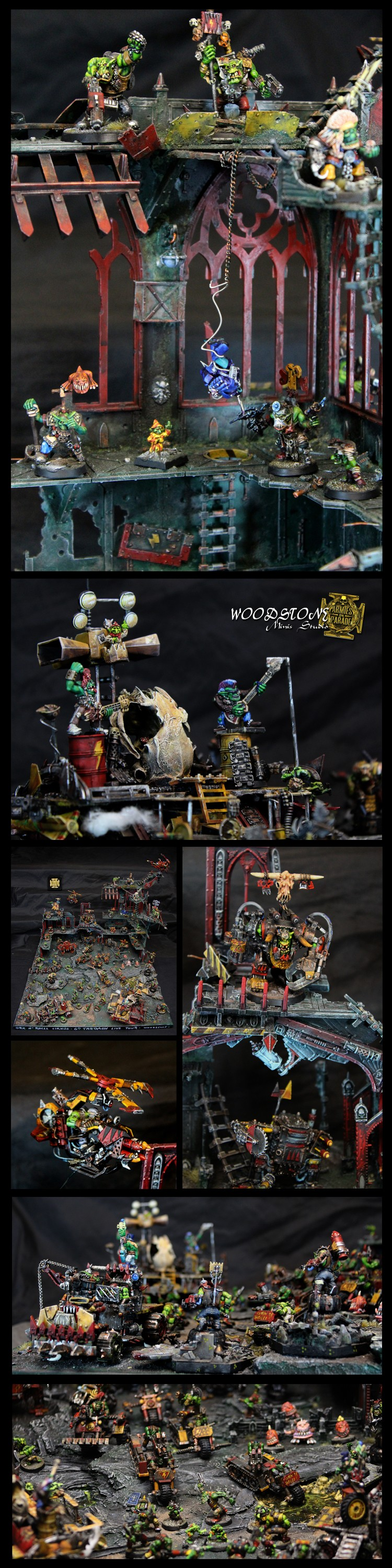 Ork N'Roll Cirkus - Close up.