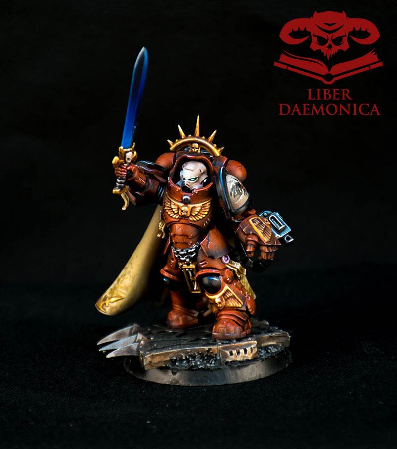 Blood Ravens Captain Warhammer 40000