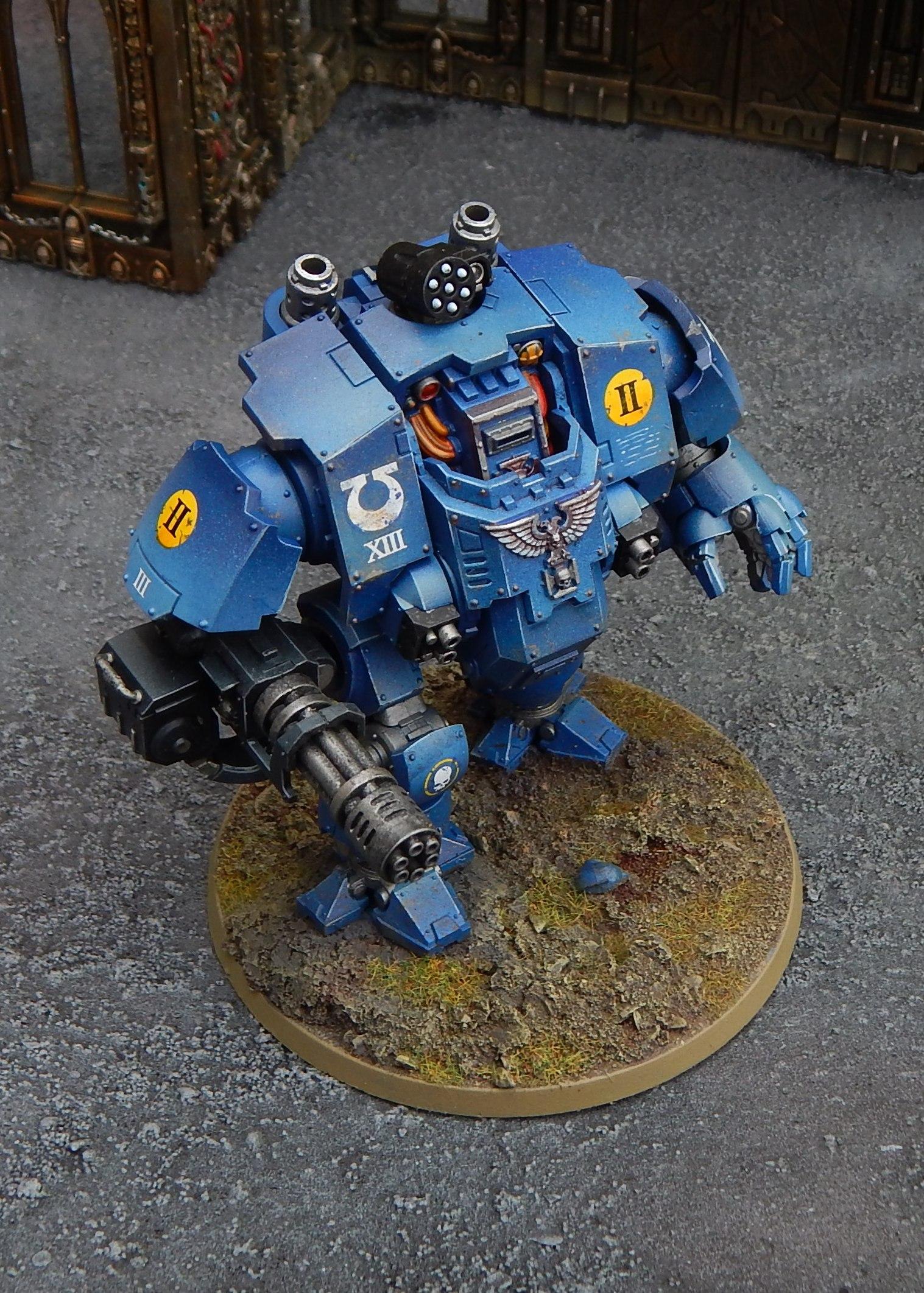 Ultramarines Redemptor Dreadnought (the other Gun)