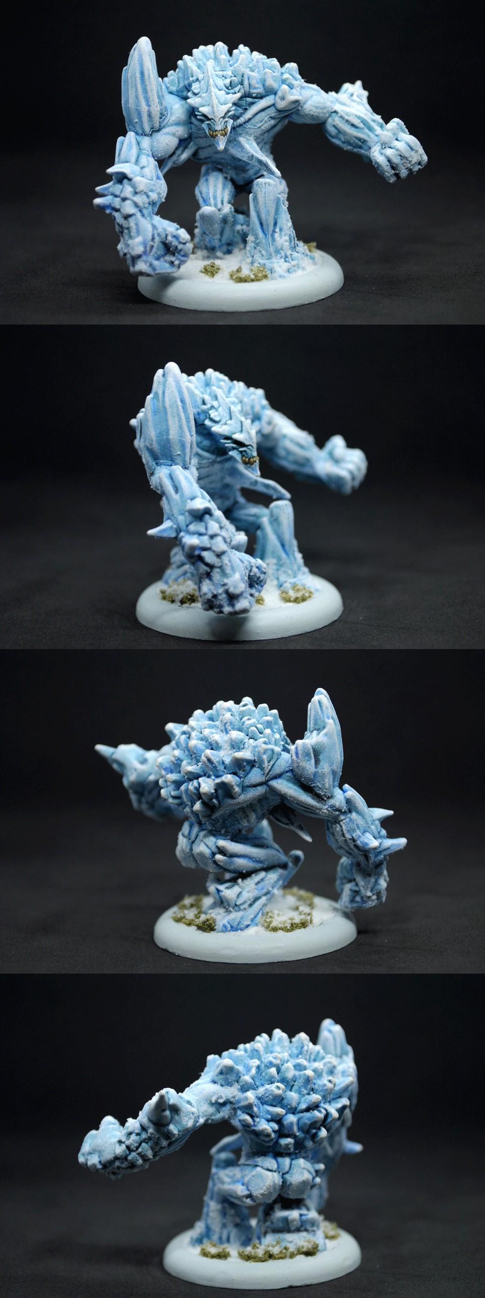 Malifaux 2E - Ice Golem
