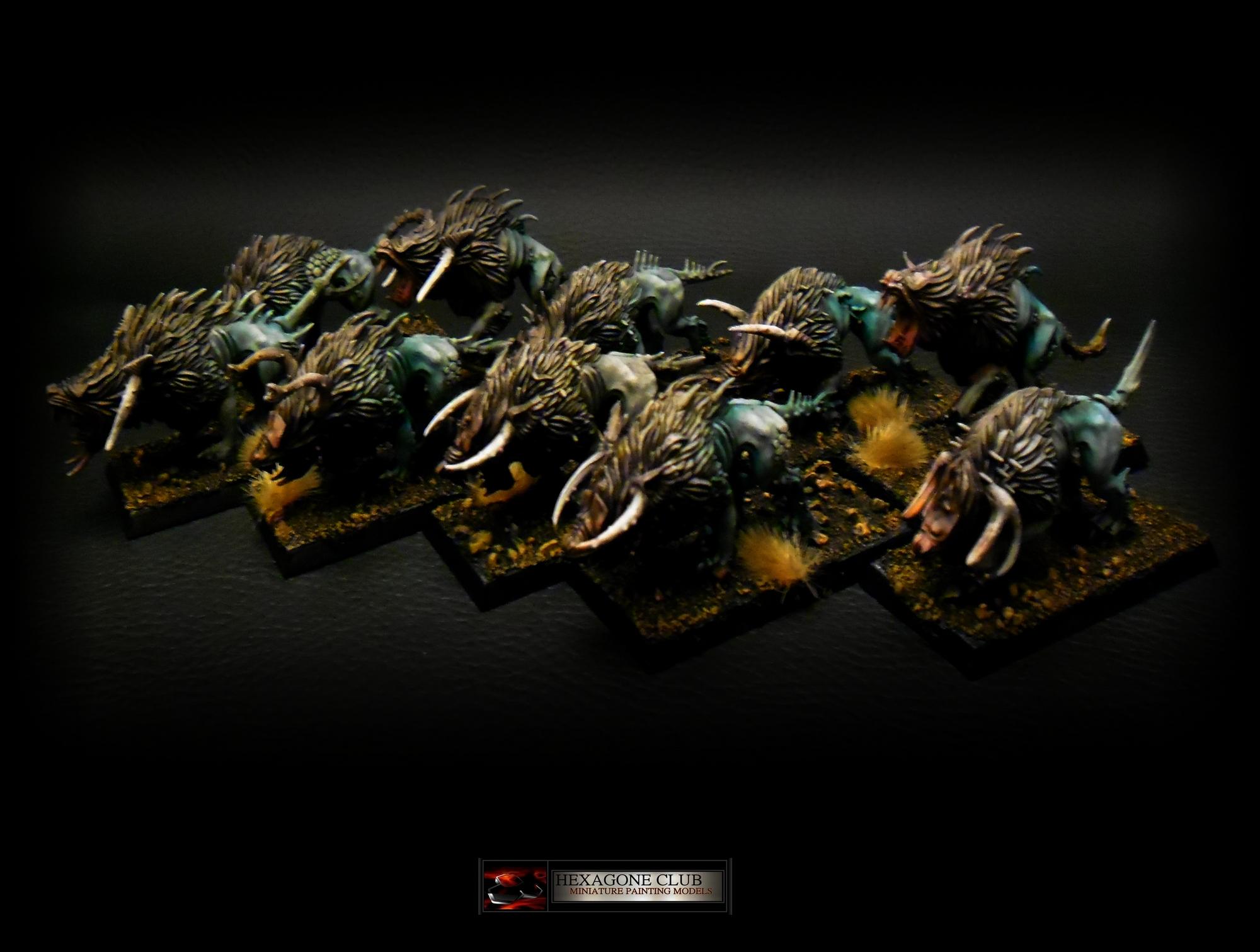 Warhammer Chaos Chiens du Chaos .