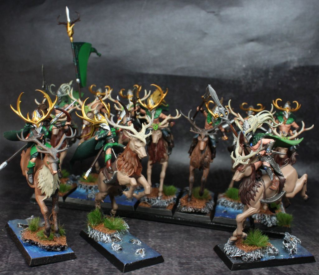 Wood Elves Cavalry Army