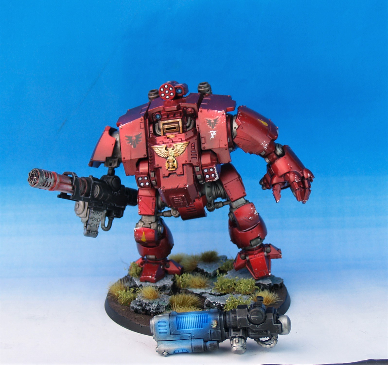 Blood Angels Redemptor Dreadnought
