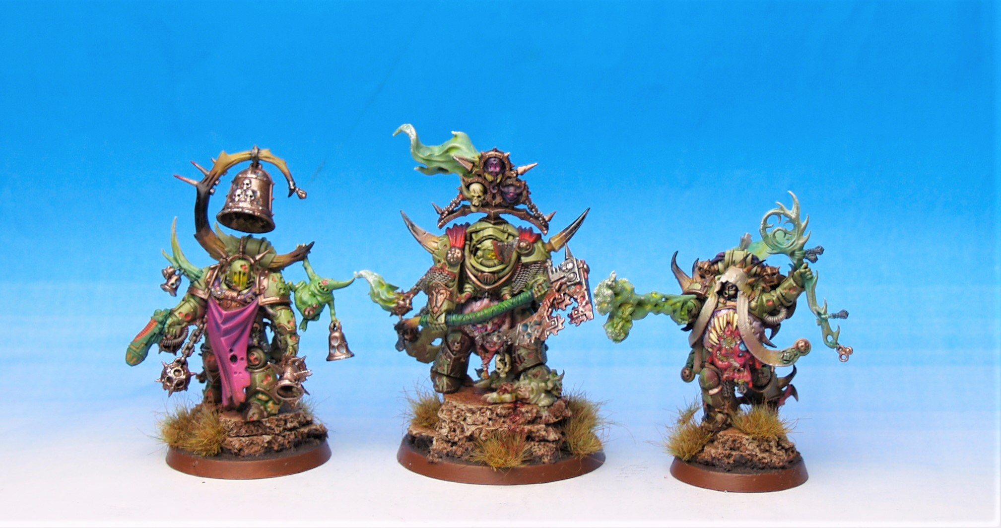 Death Guard Characters