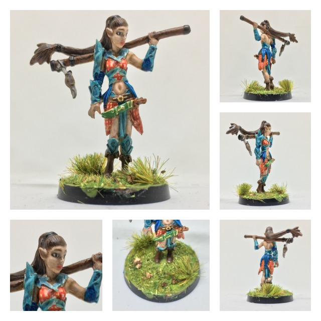 Annemarie, Half-elf Druid