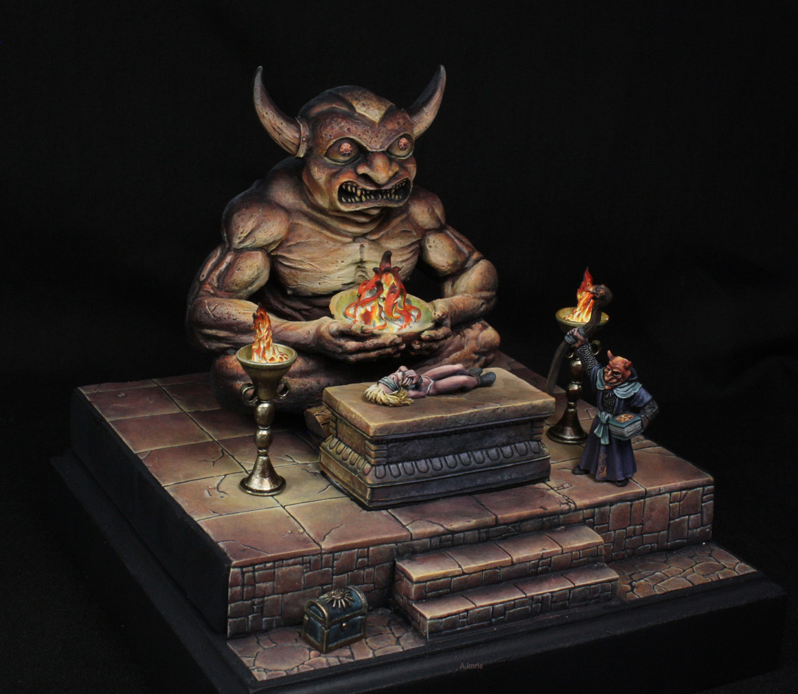 Advanced Dungeons & Dragons Demon Idol 3.0