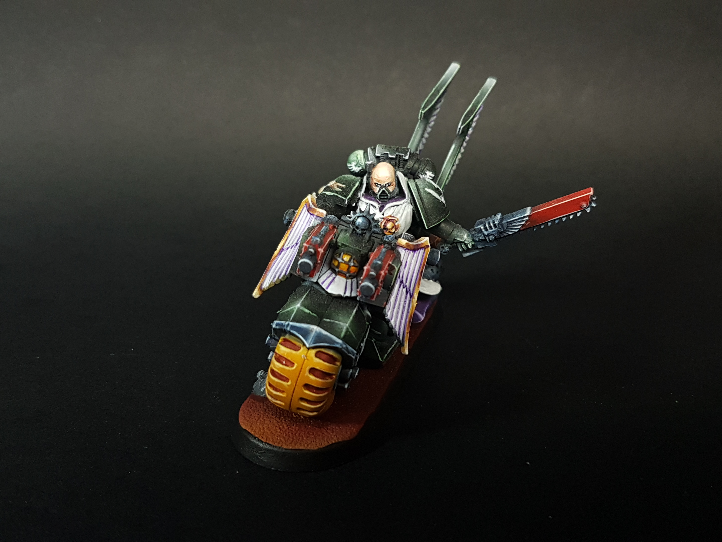 WARHAMMER 40K DARK ANGELS BIKE