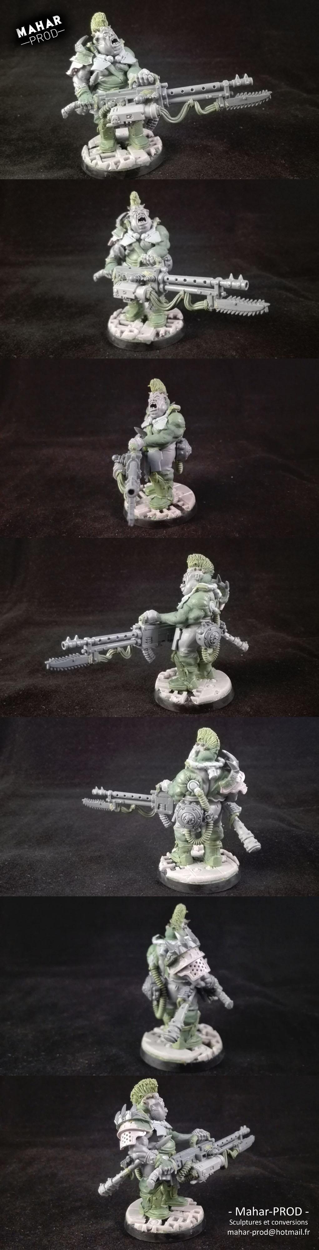 Big Heavy Goliath for Necromunda by Mahar