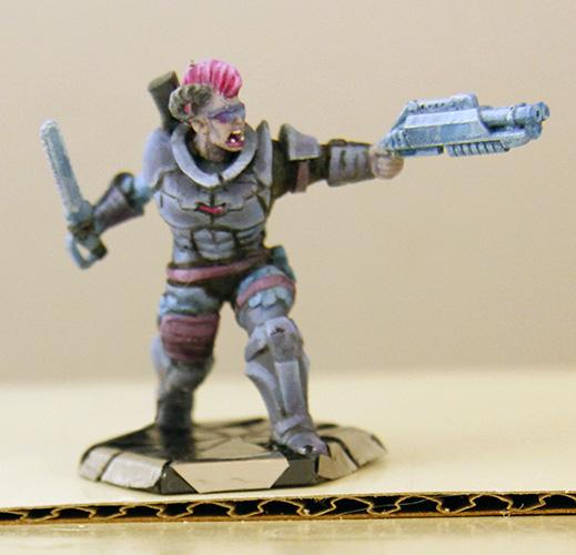 Shadowrun Troll from HeroForge